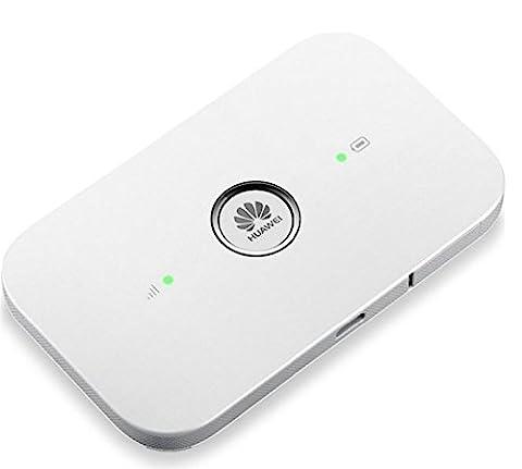 Huawei UNLOCKED 4G LTE E5573s-320 150 Mbps Portable Mobile Wi-Fi Router - White