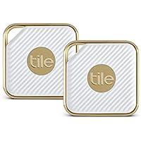 Tile Style - Buscador de Llaves. Buscador de teléfonos. Buscador de Cualquier Cosa (Champán) - Paquete de 2