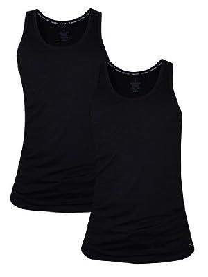 Calvin Klein 2er Tank Top black
