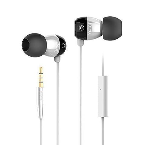 granvela® epm01écouteurs intra-auriculaires avec microphone et contrôle Intelligent fil pour