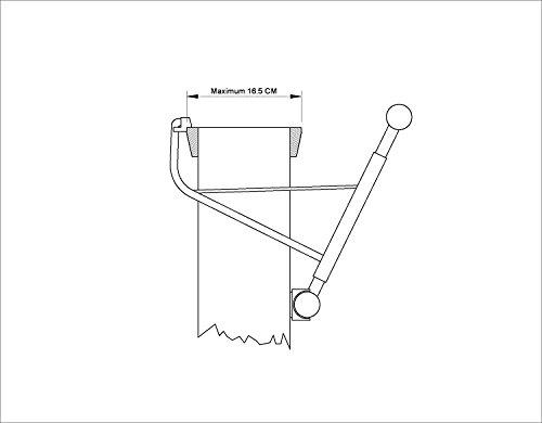 Klimmzugstange ohne Schrauben - 5