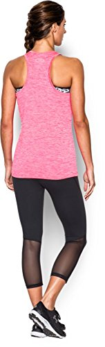 Under Armour Damen Fitness Branded Tech Tank Harmony Red