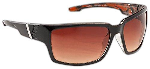 Dice Sonnenbrille, Braun (Shiny Brown), Einheitsgröße, D04712-2