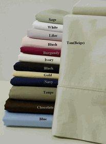 Royal Hotel-massiv weiß 600-thread-count 4pc Full Bed Sheet Set und 3duvet-cover-sets 100Prozent Baumwolle, Satin Solid, deep Pocket (Voll Satin Tröster)