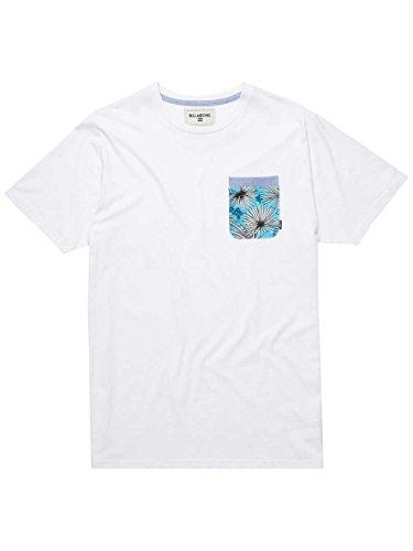 G.S.M. Europe - Billabong Herren Reversed Long Sleeve T-Shirt White