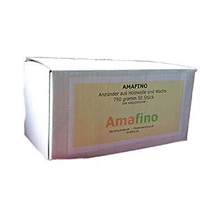 Amafino Bioanzünder 3 Pack Holzwolle Wachs
