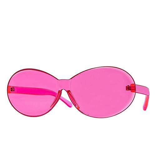 Quiet.T Randlose Sonnenbrille Frauen Männer Nette Candy Farbe Sonnenbrille Europäischen Und Amerikanischen Ins Stil Alle Passenden Eyewear UV400