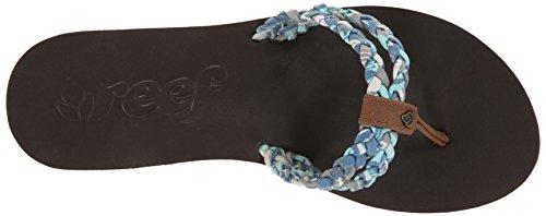 Reef Women's Sky Twisted Women's Flip Flops Blau