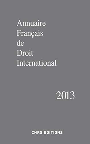 Annuaire français de droit international 59-2013