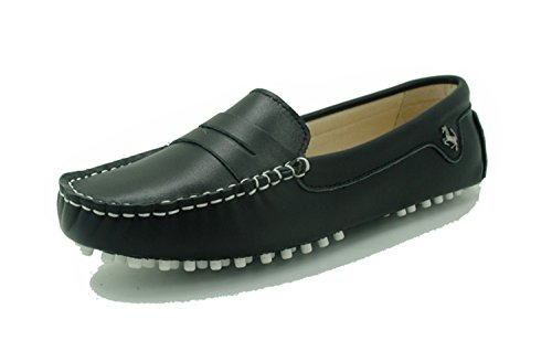 Minitoo , Mocassins pour femme Leather-Black