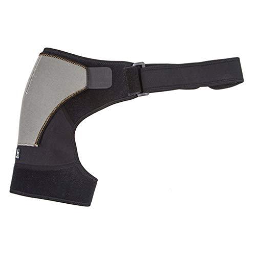 Damen Herren Einzel Schulterstütze Verstellbare Schulterstütze Fitness Basketball-Schulter-Schutz-Auflage-Recht
