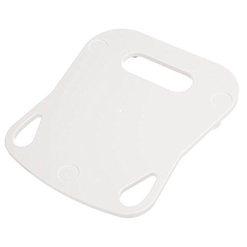 KochFix Gleitbrett für Thermomix TM5 | Premium-Rollbrett für die Küche mit Teflongleitern | Untersetzer (Weiß)