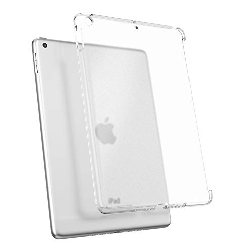 TiMOVO iPad 9.7 2018/2017 Case (Compatible with Official Smart Cover) - Slim Fit Back Shell Hard Cover for Apple iPad 9.7 Inch iPad 5th/6th - Clean Clear