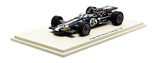Spark S4259–Eagle MK4–Winner Riverside 1968–Maßstab 1/43–Blau Metall/weiß (Metall Riverside)