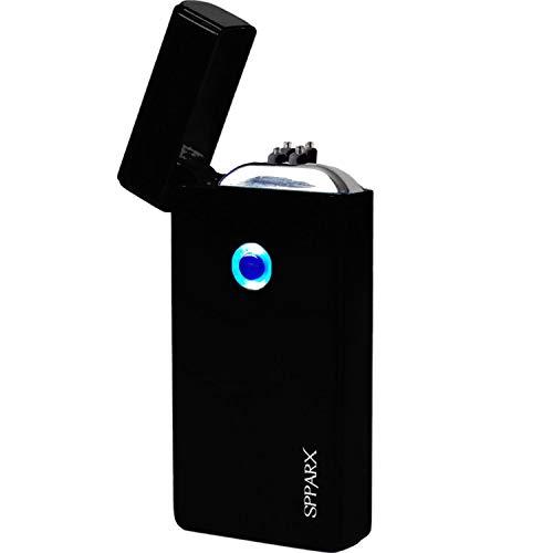 feuerzeug ohne gas SPPARX USB Feuerzeug, Lichtbogen Feuerzeug, Technologie - Elektronisches Feuerzeug Generation, Plasma Feuerzeug, elektronisches Feuerzeug, Doppelbogenstrahl, USB wiederaufladbar