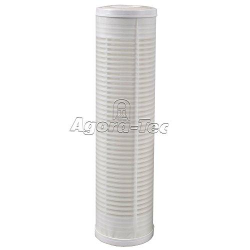 Agora-Tec® Ersatzfilter für AT-Wasserfilter groß Max. Durchflussmenge: 3000 l/h, Maschenweite Filtersieb: 0,15 mm