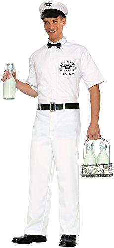 Men's Vintage Milkman Fancy dress costume Standard