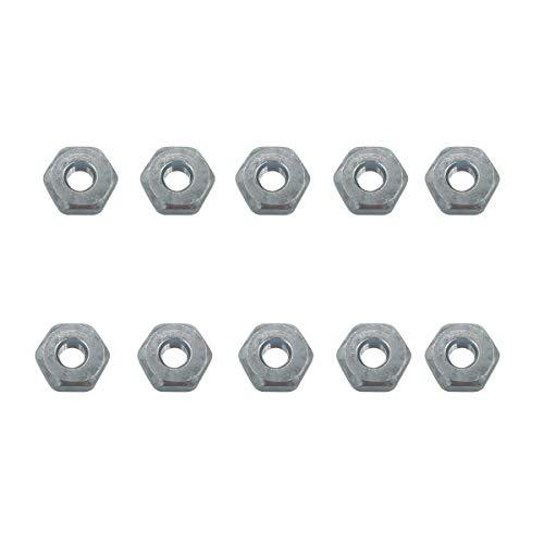 Cancanle 10 pièces Écrou pour STIHL 066 064 044 044 042 041 034 036 038 039 Tronçonneuse Numéro de pièce 00009550801