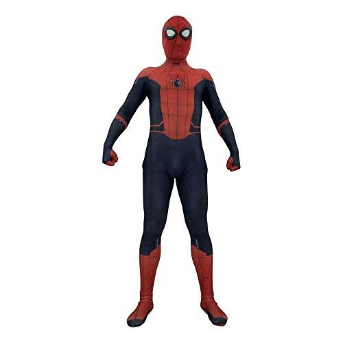 YIWANGO Erwachsener Kind Spiderman Kostüm Halloween Kostümball Karneval Party Cosplay Kostüm,Adult-XXXL