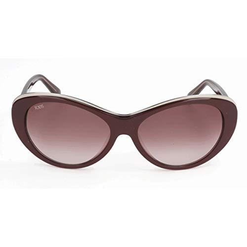 Tod's tod's sonnenbrille to9093 occhiali da sole, marrone (brown), 59.0 donna