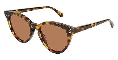 Stella McCartney Sonnenbrillen SC0118S BLONDE HAVANA/BROWN Damenbrillen