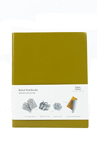 paperthinks-100-recycled-leather-xl-ruled-notebook-olive-green