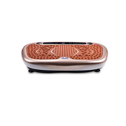 Sgsg Plataforma vibratoria oscilante Vibraciónde cuerpo entero Bluetooth Música + Superficie enorme + Diseño incomparable + Control remoto para perder peso y tonificar el cuerpo,Quema de grasa