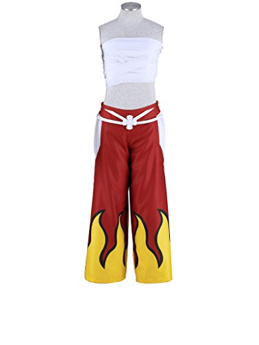 Erza Kostüm Tail Fairy - Mtxc Women'Fairy Tail Erza Cosplay s Kostüm, komplettes Set 1st