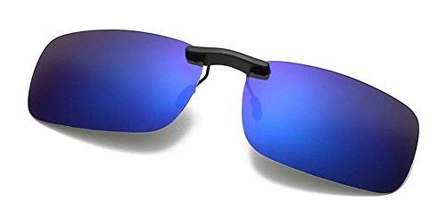 11aa7209f0 DAUCO Gafas de Sol Polarizadas Clip Lentes de Espejo de Hombre Mujer Unisex  Deportes