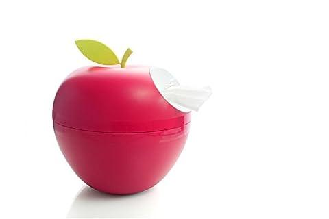 Tissue Holder Box and Piggy Bank, Cute Apple Tissue Napkin