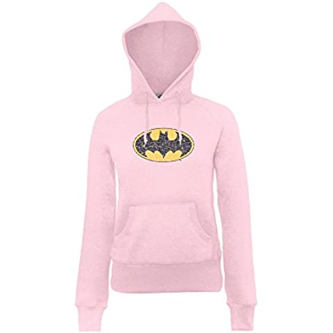 DC Comics Dc Comics Official Batman Gloss Logo Girls - Sudadera Niñas