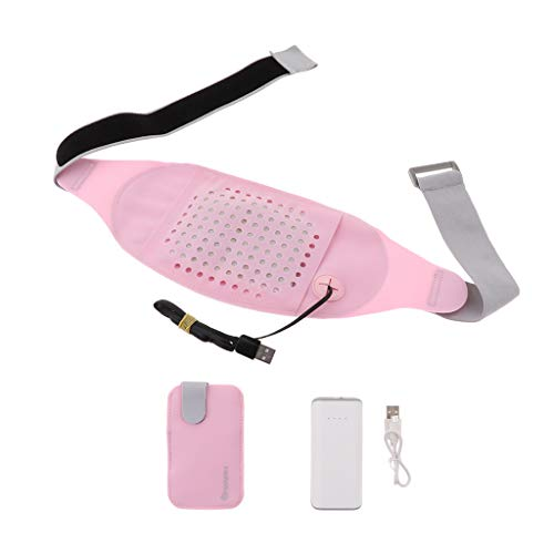 Baoblaze Wärmegürtel Heizgürtel, USB Heizkissen für Rücken & Nieren Für Damen Herren