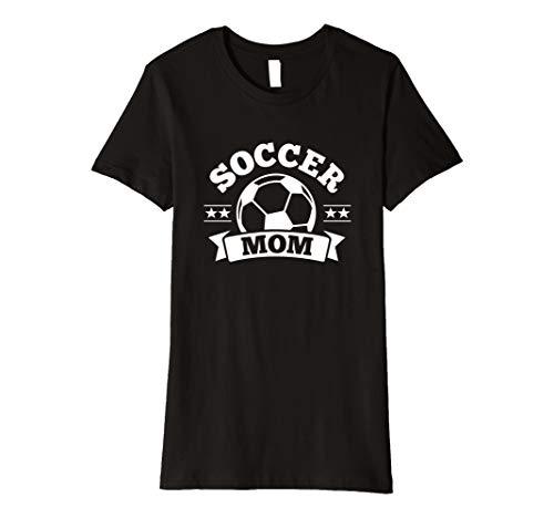 (Damen Damen Mama T-Shirts für Frauen Banner & Sterne (dunkel))