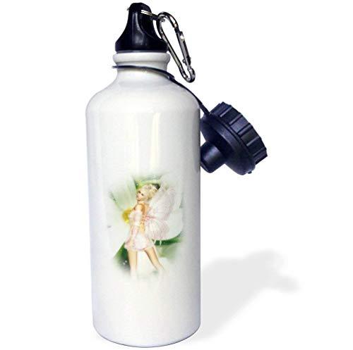 en Fairy Mehrfarbige Sport-Wasserflasche aus Edelstahl, für Damen, Herren, Kinder, 53,3 ml ()