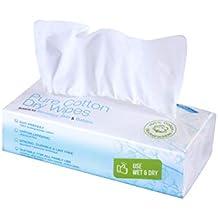 Ivyone - Toallitas secas de algodón puro ...