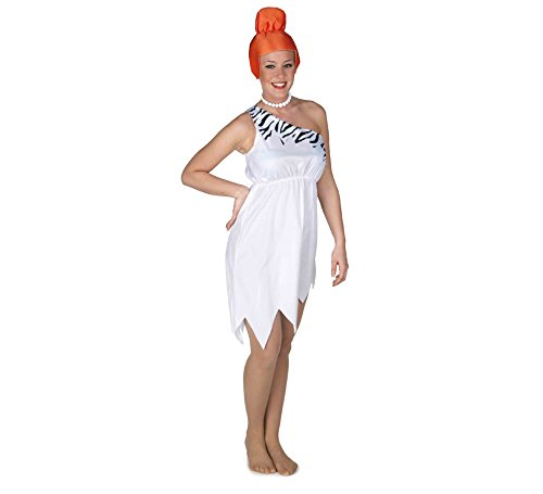 EL REY DEL CARNAVAL, SL Wilma-Zebra-Kostüm für Damen Einheitsgröße