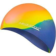 AQUA-SPEED® BUNT Cuffia di bagno + Piccolo Asciugamano in microfibra  3e2fb69edc35