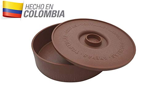 IMUSA Estados Unidos MEXI-1000-TORTW calentador de tortillas mexicanas (25,4cm, terracota marrón ladrillo color