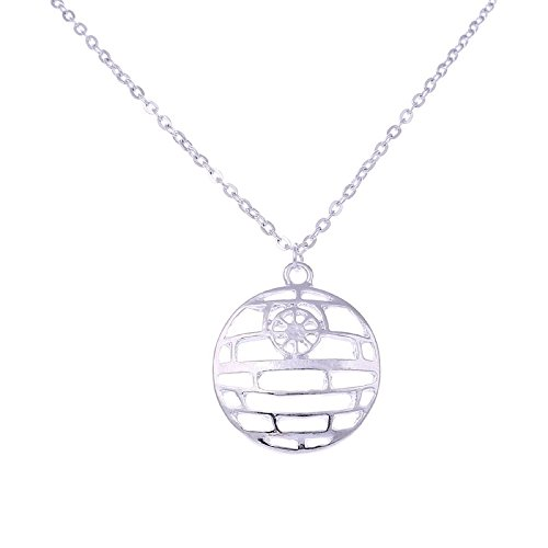 Star Wars Death Star Anhänger Halskette Kostüm Requisiten Schmuck