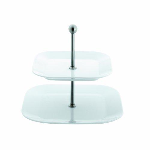 Kahla - Porcelaine pour les Sens 427813A90042C Cumulus Présentoir Carré Blanc