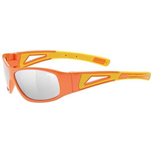 Uvex Unisex Jugend Sportstyle 509 Sonnenbrille, orange, one Size