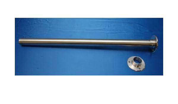 630 mm Schwarz Wei/ß Bulk Hardware BH04370 40 x 630 mm Arbeitsplatten-Endkappe