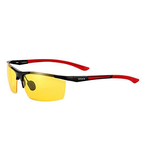 Preisvergleich Produktbild soxick Herren Nachtsicht Brille polarisierte fahren Schutzbrille
