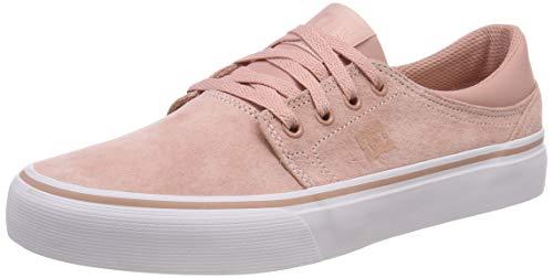 DC Shoes Trase Le, Scarpe da Skateboard Donna, Rosa (Peach PRF Ppf), 40 EU