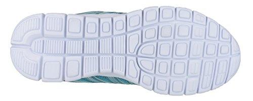 Mirak ~ MILOS LACETS ~ Baskets/Décontracté/Chaussure Sneaker ~ TURQUOISE Turquoise