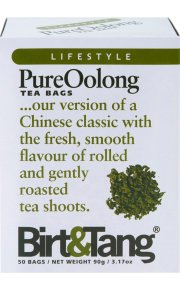 Birt and Tang Pure Oolong Tea (Pack of 2, Total 100 Bags)