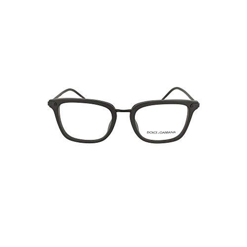 Ray-Ban Herren 0DG3319 Brillengestelle, Schwarz (Matte Black), 52.0
