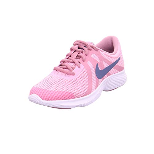Nike mädchen laufschuh revolution 4 (gs), scarpe running bambina, rosa (pink/diffused blue-elemental p 602), 36.5 eu
