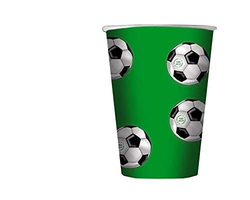 Big Party Dimav s.r.l. Packung mit 10 Brillen-Fußball-Thema