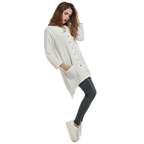 Bluetime - Camicia -  donna White